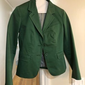 Hunter green blazer